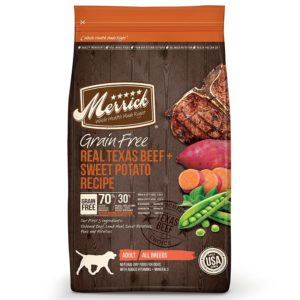 Merrick Grain-Free Real Texas Beef & Sweet Potato Recipe Dry Dog Food Photo