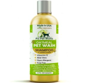 Pro Pet Works Natural Oatmeal Dog Shampoo + Conditioner Photo