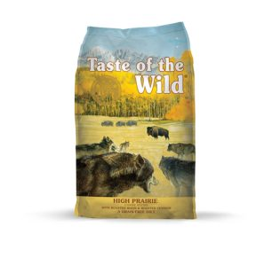 Taste of the Wild Grain-Free High Protein Dry Dog Food High Prairie Photo